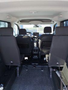 Peugeot Rifter aménager pour les personnes a mobilités réduites