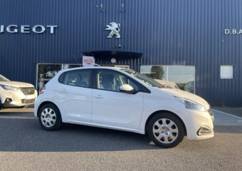 Peugeot 208 blanche à vendre garage bastie dba aveyron (2)
