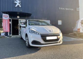 Peugeot 208 blanche à vendre garage bastie dba aveyron (5)